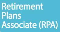 RPA - Retirement Plans Associate